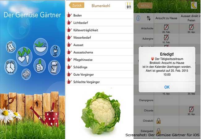 Garten Apps: Der Gemüse Gärtner