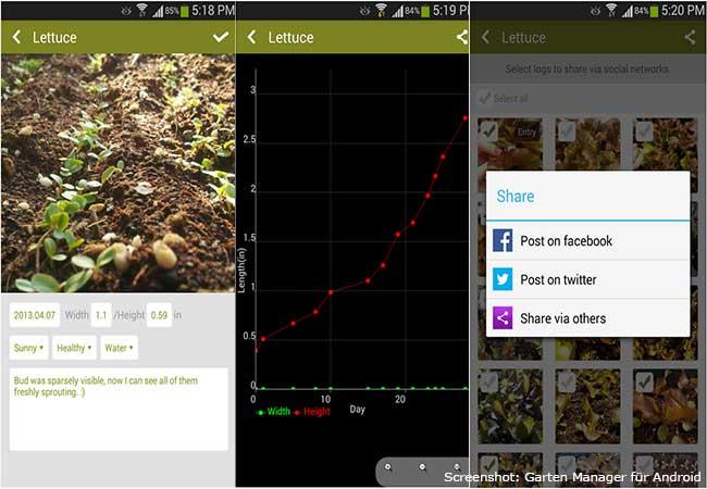 Garten Apps: Garten Manager