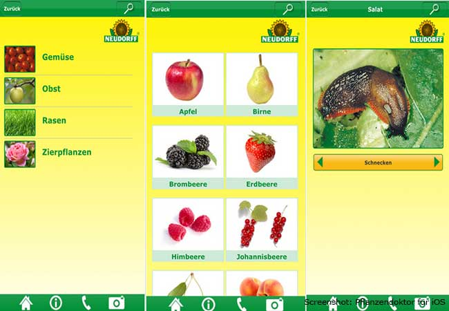 Garten Apps: Pflanzendoktor