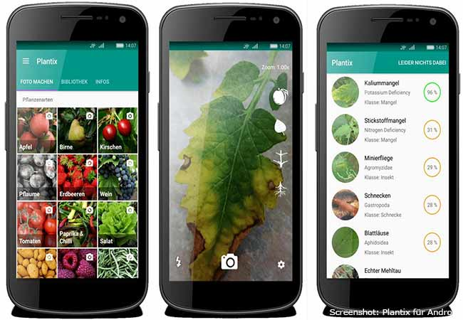 Garten Apps: Plantix