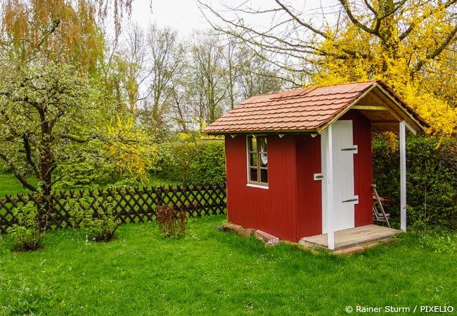 Beim AGrtenhaus in der Kleingartenanalge gilt das Bundeskleingartengesetz