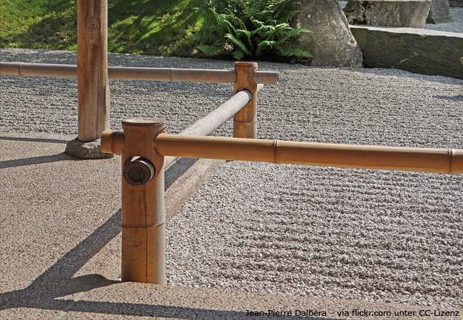 Einen Japansichen Garten im klassischen Stil anlegen.