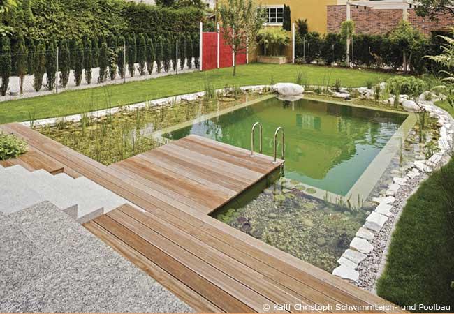 pool oder schwimmteich im garten bauen garten hausxxl garten hausxxl. Black Bedroom Furniture Sets. Home Design Ideas