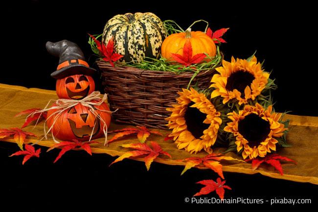 Halloween Stimmung im Herbst