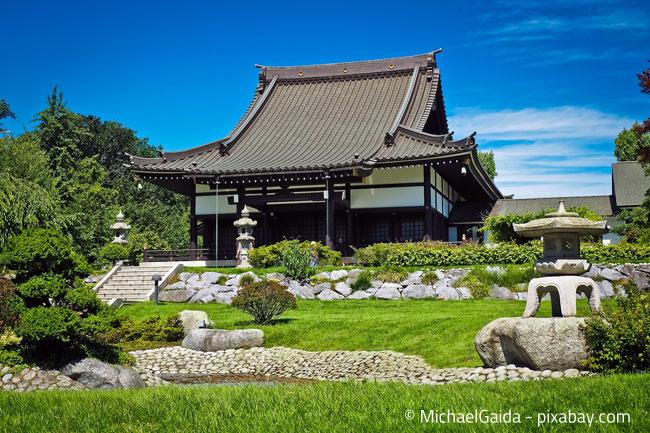 Ein Gartenhaus im japanischen Stil - Einfach traumhaft!