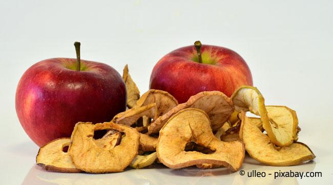 Apfelringe sind ein extrem leckerer Snack und bei richtiger Lagerung lange haltbar