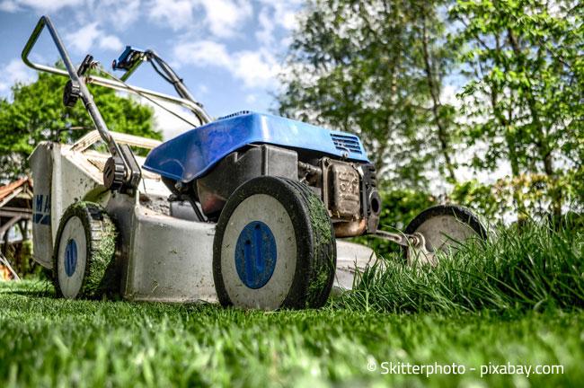 Auch Ihren Rasenmäher sollten Sie vor dem Winter gründlich reinigen