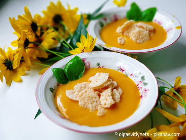 Kürbissuppe: Nicht nur lecker, sondern auch gesund