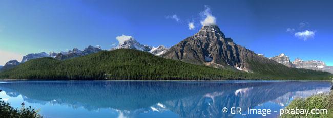 Die Rocky Mountains: Malerische Heimat der Stechfichte