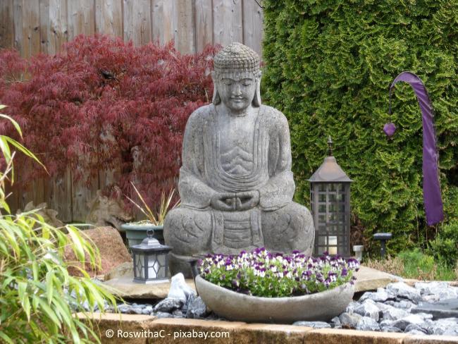 Mit Gartenfiguren können Sie tolle Highlights setzen!